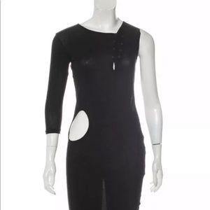 Yohji Yamamoto Cut Out Rare Dress size 2  Japan